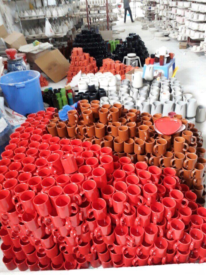 Một số hình ảnh tại xưởng sản xuất của ly sứ Vinaly