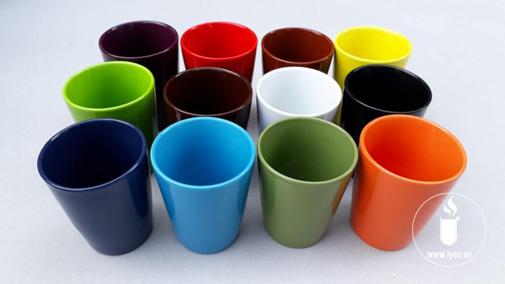 Ly có đầy đủ màu sắc phù hợp với mọi nhu cầu về màu của doanh nghiệp