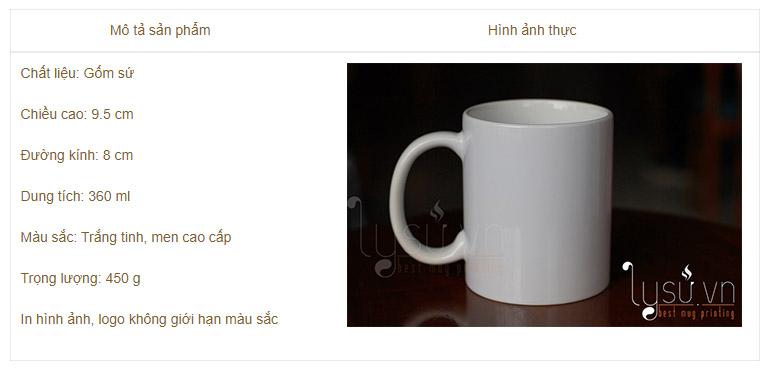 Ly sứ trắng cao cấp - sản phẩm với chất lượng hàng đầu