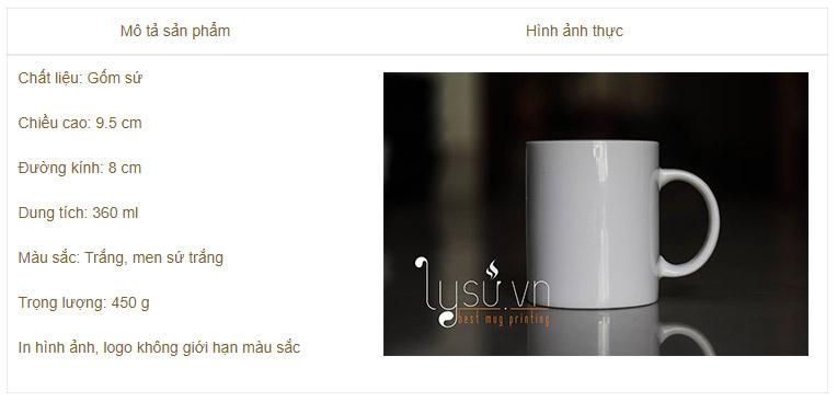Ly sứ trắng thường giá rẻ - Sản phẩm được ưa chuộng nhiều nhất