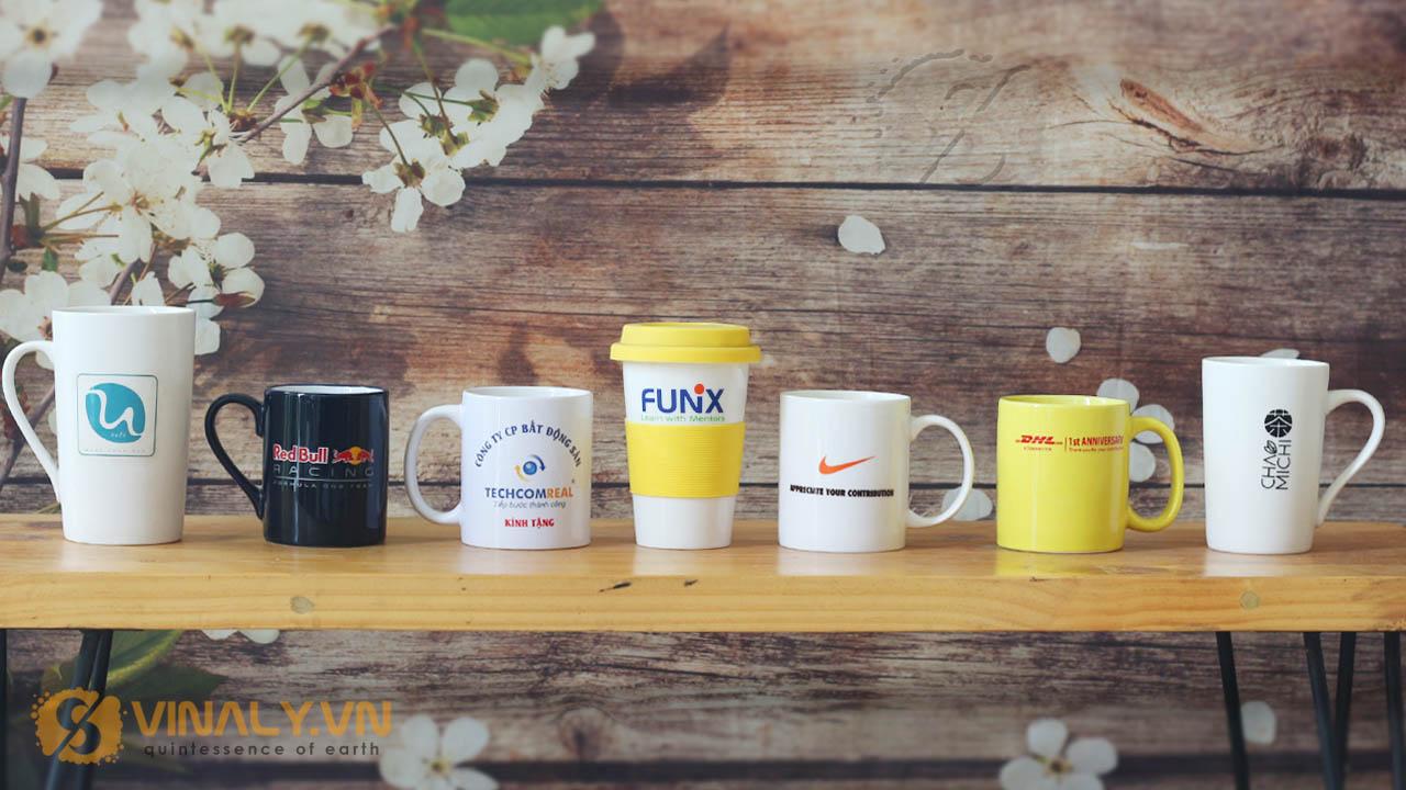 Những mẫu sản phẩm ly sứ in logo doah nghiệp được khách hàng ưa chuộng nhất hiện nay.