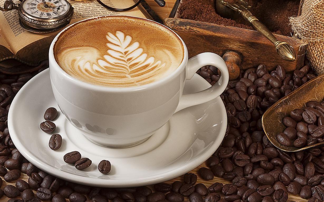 Ly sứ cappuccino cho quán cafe