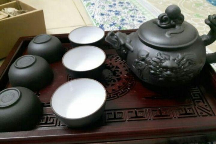 Bình trà gốm sứ Bát tràng