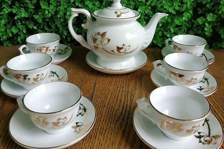 Bộ ấm trà đẹp