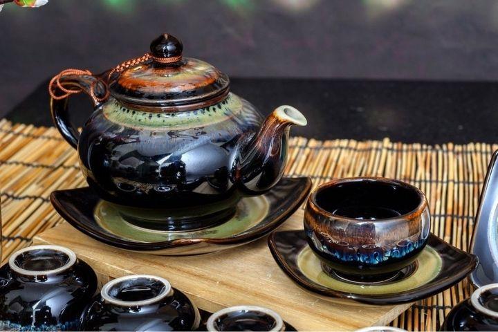 Bộ ấm trà xưa