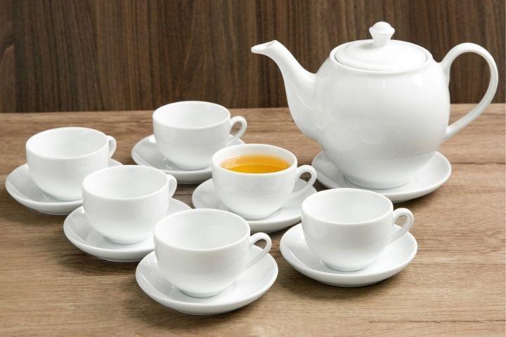 Bộ trà sứ