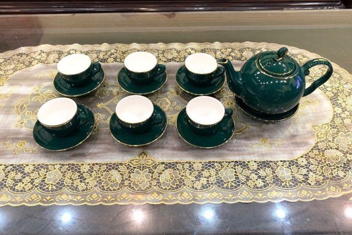 Bộ tách trà Bát Tràng 14 sản phẩm