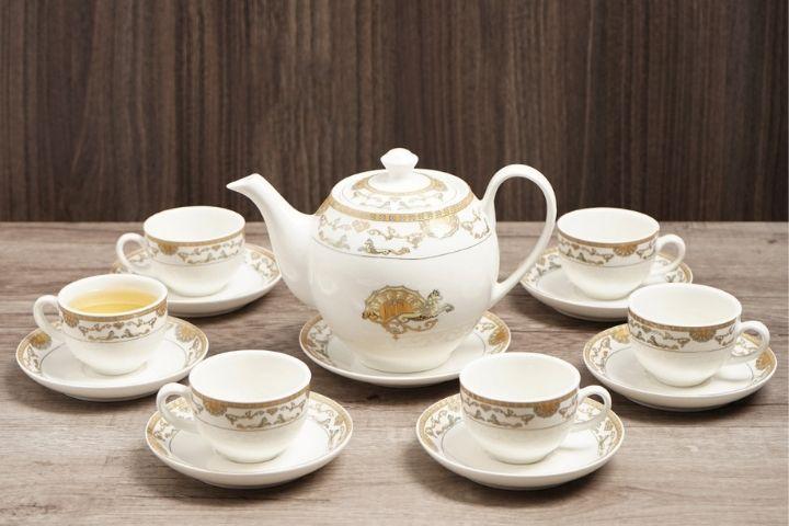 Bộ tách trà sứ