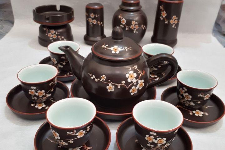 Bộ ấm trà Bát Tràng TPHCM