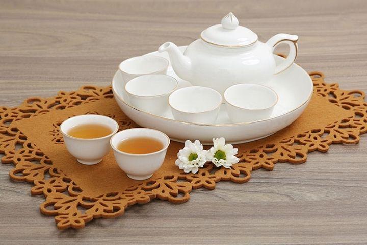 Bộ bình trà sứ