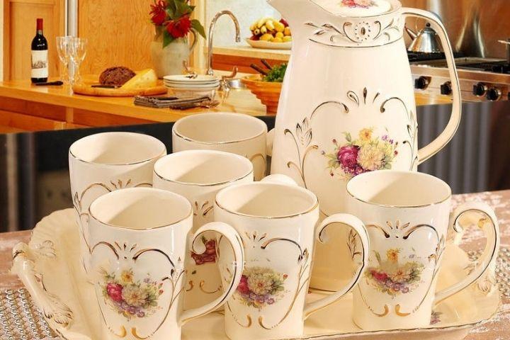 Bộ ấm trà sứ giá rẻ