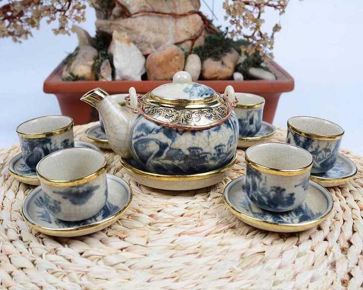 Bộ tách trà Bát Tràng
