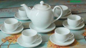 Bộ ấm trà bầu cao sang trọng thương hiệu Vinaly