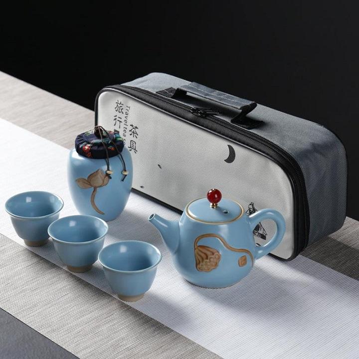 Bộ ấm trà du lịch - Quà tặng du lịch độc đáo dành cho doanh nghiệp của bạn.