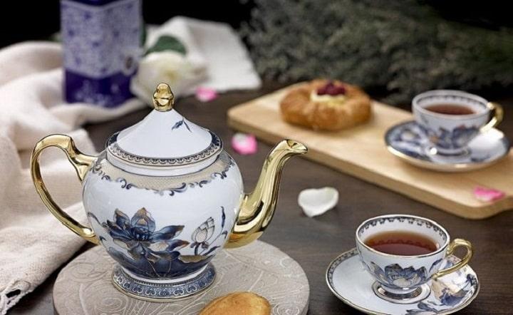 Bộ ấm trà - Quà tặng Phật giáo độc đáo